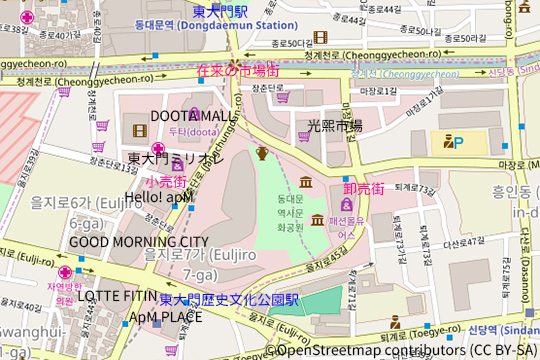 dongdaemun-map