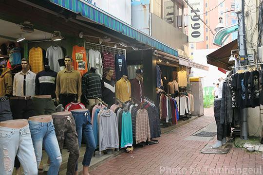 韓国で安いオシャレな服が手に入る場所はどこ 買い物におすすめの